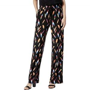 INC Amazing Popsicle Print Casual Pants Petite XL